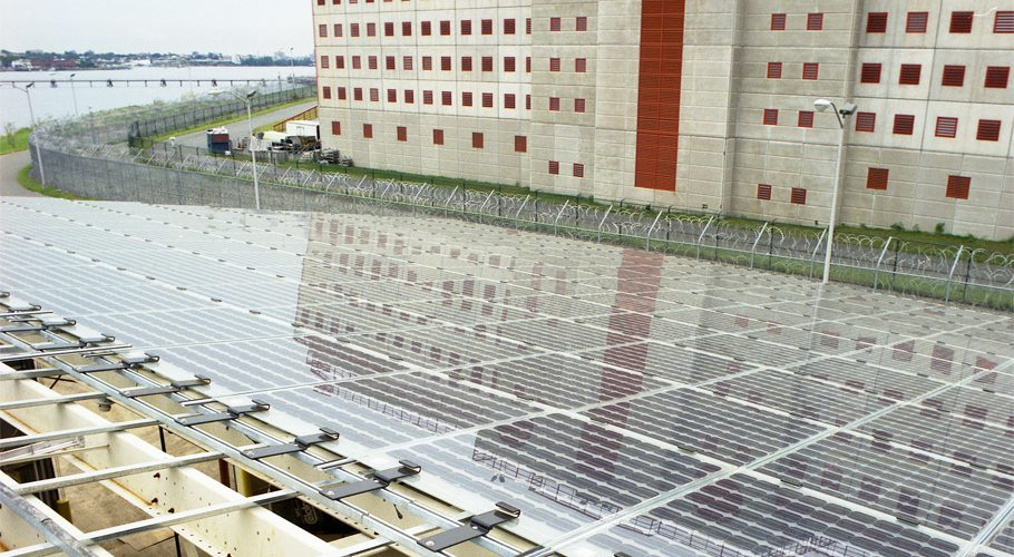 18kw Building Integrated System - Rikers Island, NY