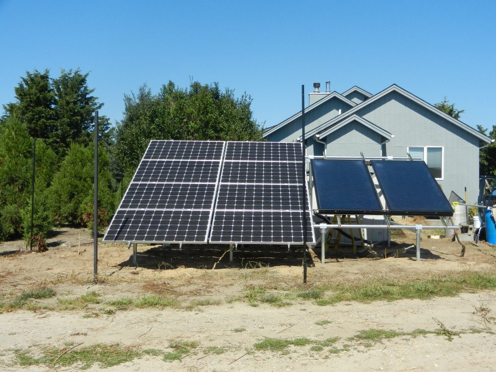 Off-Grid Electric and Hot Water System - Eastport, NY