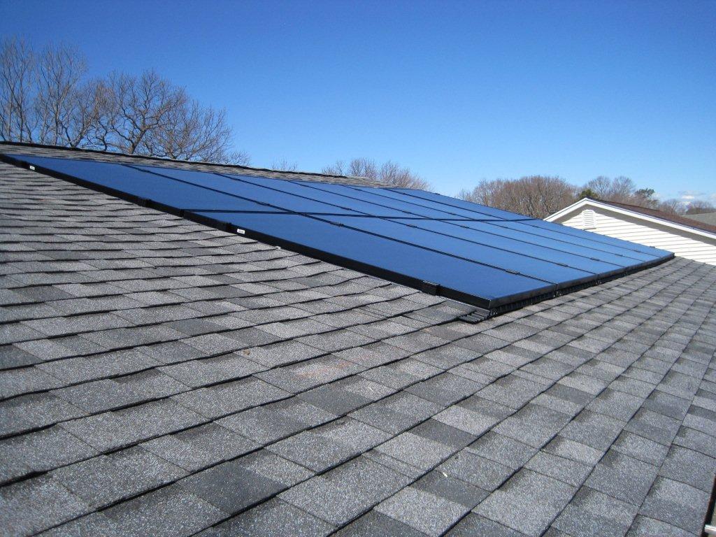 Solar Electric E-Z Roof Installation- Huntington, NY