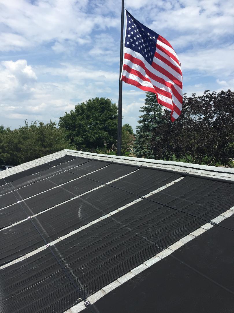 Pool Solar Installation - West Babylon, NY