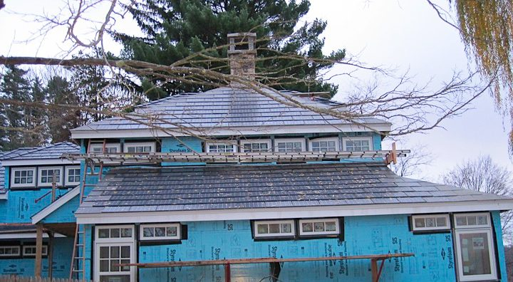 Roof Integrated Sunslate Solar Electric/Hot Water Hybrid System 5kw  - South Salem, NY