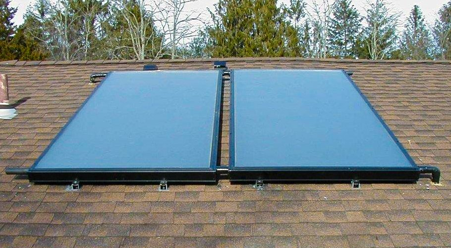 Solar Hot Water Installation - Farmingdale, NY
