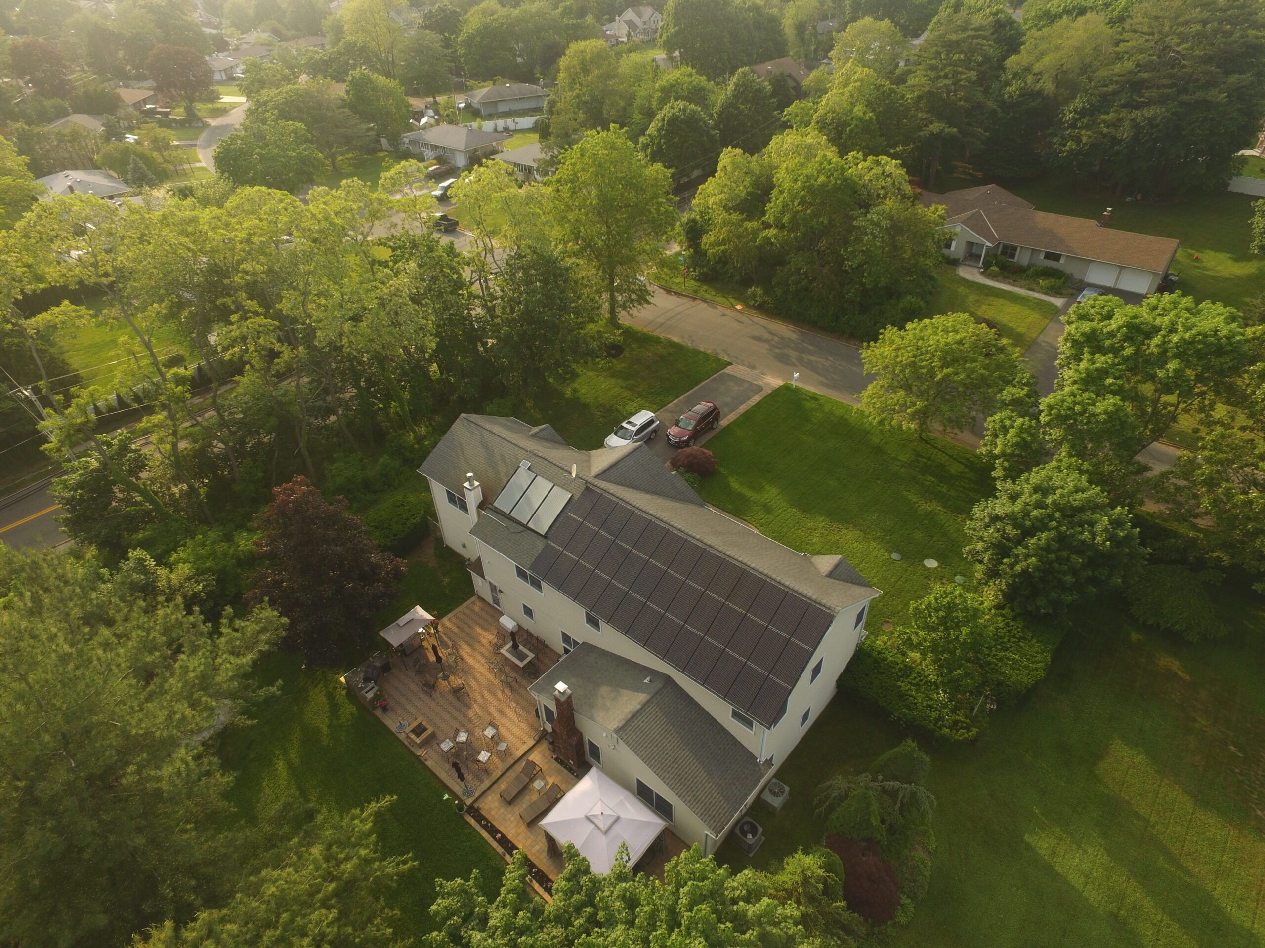 Solar Electric & Hot Water Installation - St. James, NY