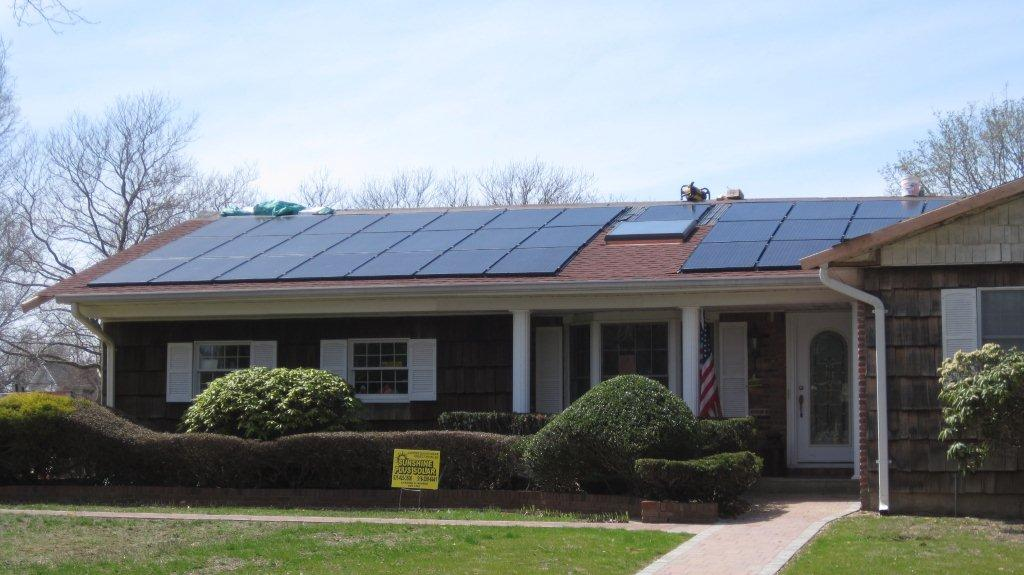Solar Electric Installation - East Northport, NY