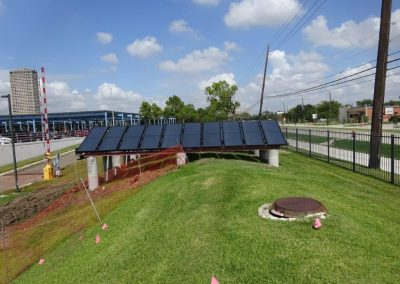 Thermal Solar Project for Veterans Affairs Medical Center Houston