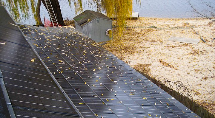 Roof Integrated Sunslate Solar Electric/Hot Water Hybrid System 5kw  - South Salem, N