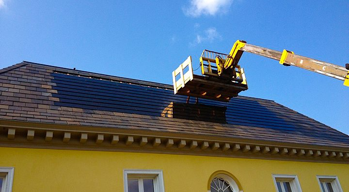 Roof Integrated Sunslate System 6.5kw - Jefferson, NY